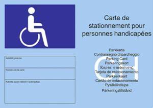 Carte Stationnement Paris : handicap r publique et canton du jura ~ Maxctalentgroup.com Avis de Voitures