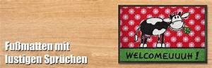 Fußmatten Auto Selbst Gestalten : lustige witzige fussmatten mit spr chen gestalten ~ Yasmunasinghe.com Haus und Dekorationen