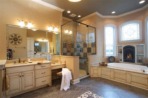 bathroom tub surround tile ideas mullet cabinet cozy master bath