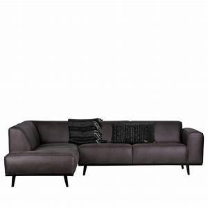Canapé D Angle Gauche : canap d 39 angle gauche eco cuir statement drawer ~ Teatrodelosmanantiales.com Idées de Décoration