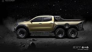 Mercedes 6 6 : mercedes benz x class 6x6 pickup truck incoming autoevolution ~ Medecine-chirurgie-esthetiques.com Avis de Voitures