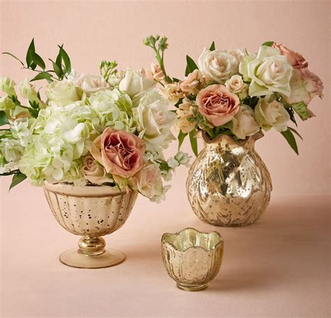 mercury glass votives gold mercury glass vases votives billies flower house