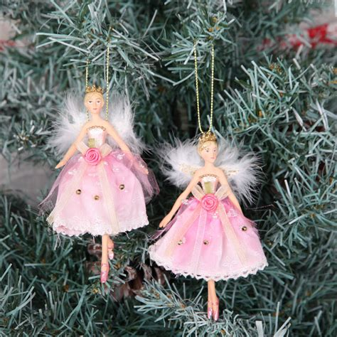 fairy princess christmas tree decorations by red berry