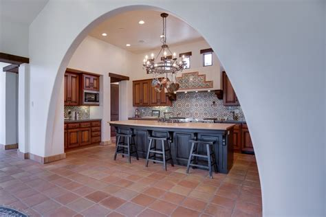 Kitchen Decor Clearance by Traditional Kitchen With Terracotta Tile Floors Mexican