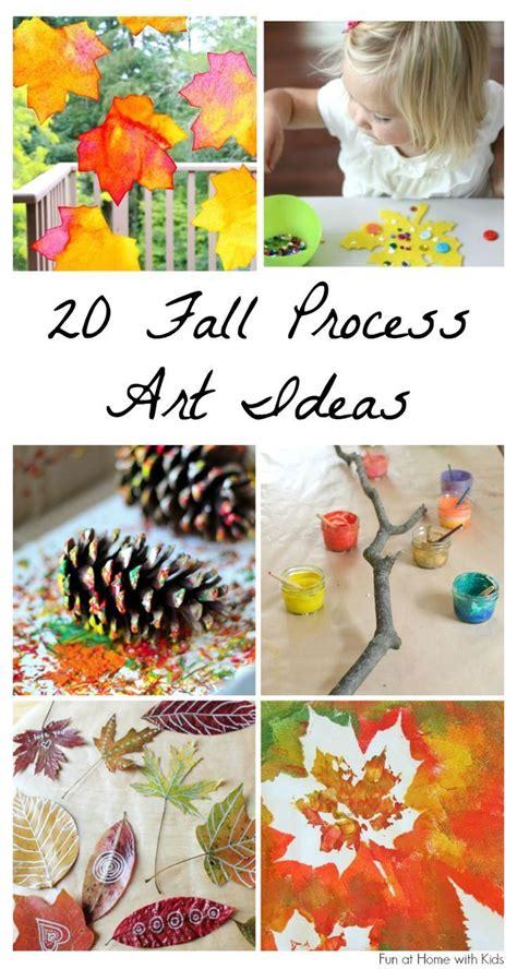 beautiful fall process art ideas  kids kids fall