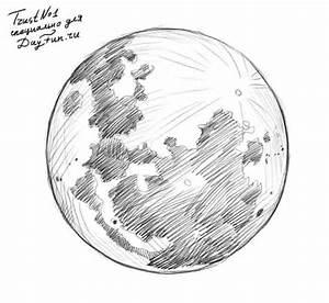 dibujos de la luna a lapiz - Buscar con Google ...