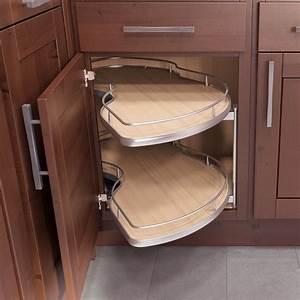 Corner kitchen cabinet storage ideas style home for Chic corner kitchen cabinet ideas