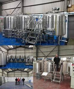1000l 3 Vessel Brewing System Shandong Tiantai Beer