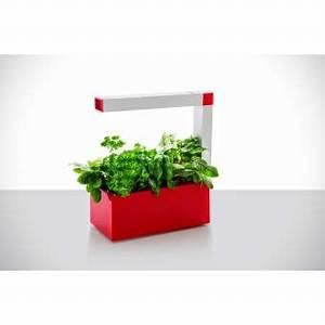 Mini Potager D Intérieur : mini potager d 39 int rieur autonome tregren herbie rouge 6 ~ Dailycaller-alerts.com Idées de Décoration