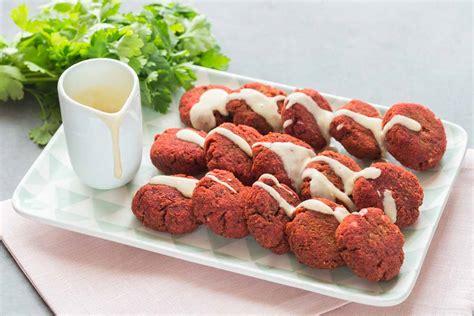 rectte cuisine beetroot falafels cuisine addict cuisine addict