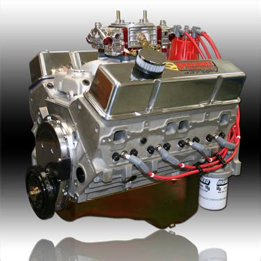 Small Block Chevy Engine by 427 Small Block Chevy Aluminum Gas Engine