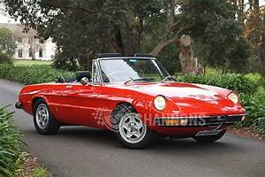 Alfa Romeo Spider : sold alfa romeo 2000 spider auctions lot 9 shannons ~ Maxctalentgroup.com Avis de Voitures