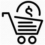Icon Sell Shopping Coins Purchase Selling Icons