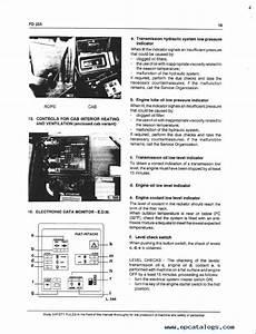 Fiatallis Fd255 Dozer Operation Maintenance Instruction