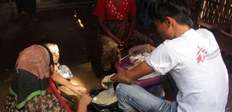 msf resumes work in western myanmar after govt ban