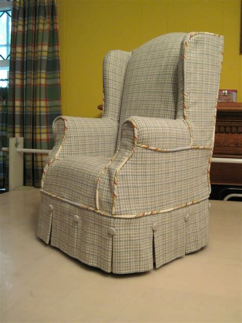 cusion covers living room vintage wing chair slipcover for your living