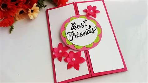 How To Make Special Card For Best Friend/diy Gift Idea