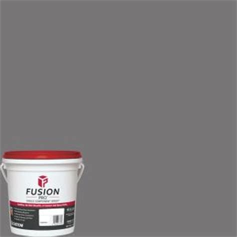 pewter grout custom building products fusion pro 19 pewter 1 gal single component grout fp191 2t the