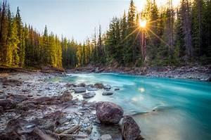 Natural Bridge Canadian Rockies Custom Wallpaper