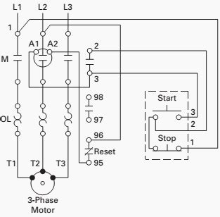 Basic Wiring For Motor Control Technical Data Guide Eep