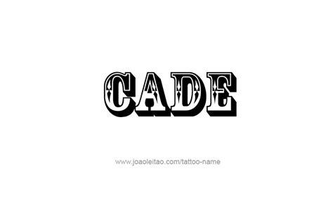 cade  tattoo designs