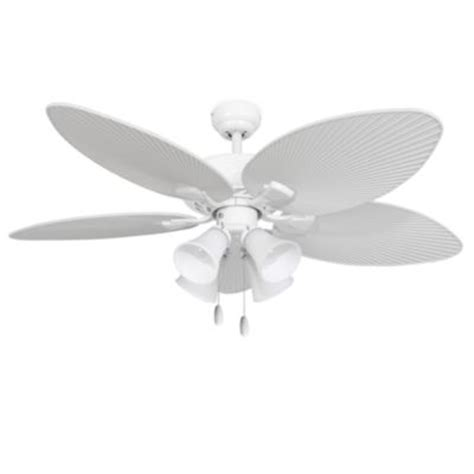 buy 4 light white ceiling fan from bed bath beyond