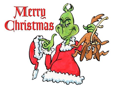 merry christmas pictures grinch the grinch merry christmas fabric block ebay