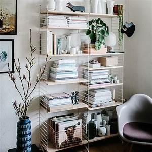 Deko Für Regal : online shop deko sch n deko ideen mit pflanzen f r das b cher regal von string shelfie ~ Eleganceandgraceweddings.com Haus und Dekorationen