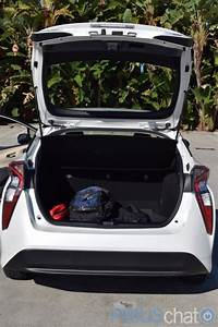 2016 Prius rear hatch cargo space with flexible tonneau ...