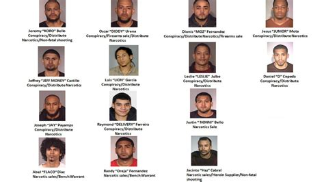 mugshots 31 arrested in major multi county heroin ring bust in new jersey abc7ny