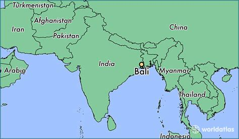 bali india bali west bengal map worldatlascom
