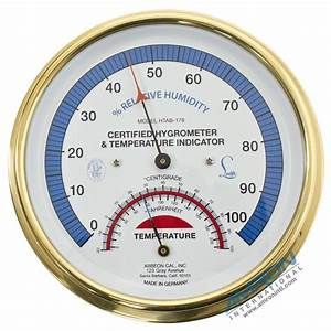 Abbeon Cal Certified Hygrometer and Temperature ...