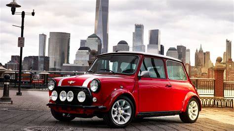 Check Out Newly Revealed Retro Electric Mini Cooper