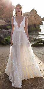 32 sexy deep plunging v neck wedding dresses 2557277 With plunging v neck wedding dress