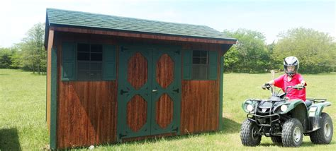 amish built storage sheds in missouri meet dunnegan springs structures a new amish shed garage