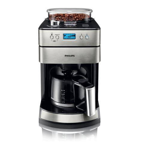 philips 7751 00 kaffeemaschine mit mahlwerk 1000 watt 12 tassen 1 6 liter tank ebay