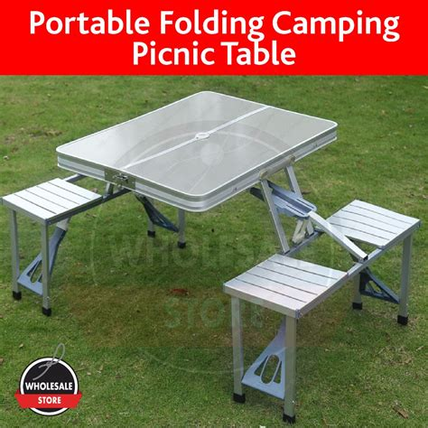 nested tables furniture portable foldable picnic table cing table chair