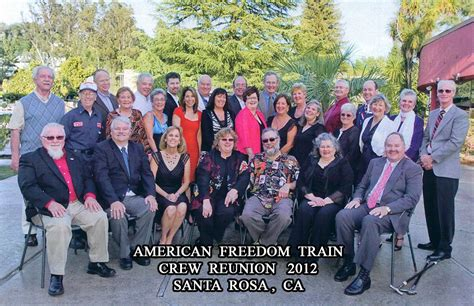 american freedom train crew reunion