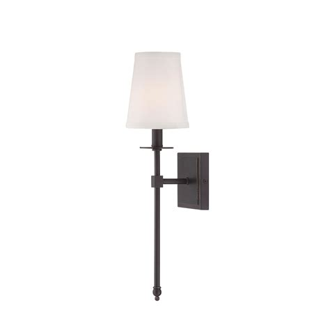 savoy house bronze one light 5 inch wide wall