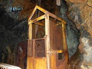 Mine Elevator - Picture of Old Hundred Gold Mine Tour ...