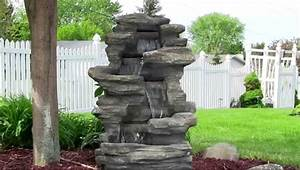 Large stone outdoor water fountains tedx decors the for Large outdoor fountains