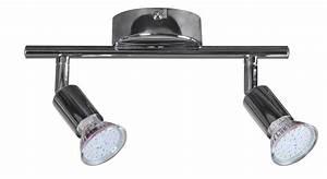 Led Strahler 2 Flammig : finebuy 2 flammig led strahler deckenleuchte strahler spotsystem led wandlampe lampe spot eek ~ Markanthonyermac.com Haus und Dekorationen