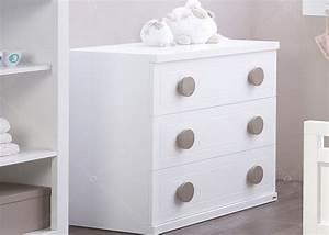 Commode 3 tiroirs en mdf 16 couleurs au choix chez ksl living