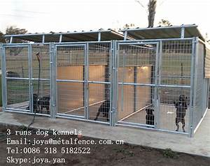 large pet safety fence panels metal panels dog cages dog With metal dog kennel and run