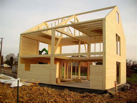 poteau poutre maison bois