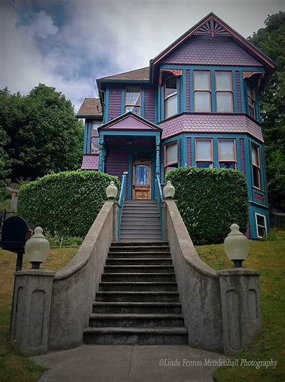 Oregon Homes Victorian Astoria Behance Linda Fenton