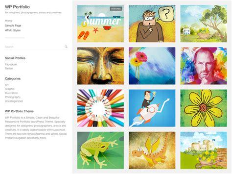 Portfolio Themes Wp Portfolio Org