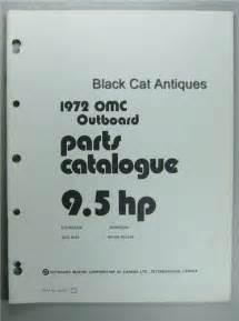 Original 1972 Omc Parts Catalog 9 5 Hp Models Evinrude