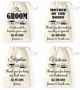personalised wedding day gift bag groom bride best man With gift for groom on wedding day