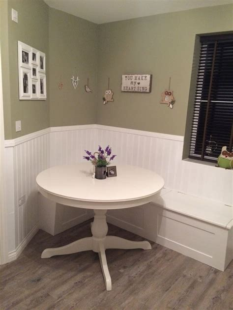 small kitchen ideas small kitchen ideas breakfast nook white wood paneling